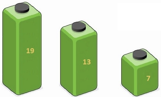 Three Containers Puzzle